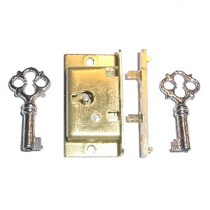 BRACKET CLOCK LOCK: