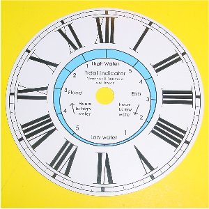 TIME AND TIDE DIAL: 112mm